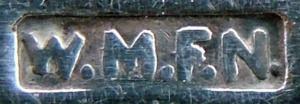 Stempel für versilbertes WMF Besteck zwischen 1886 und 1903