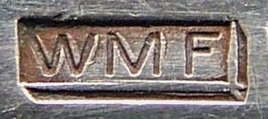 Zweite WMF Besteckmarke, verwendet von 1920-1930