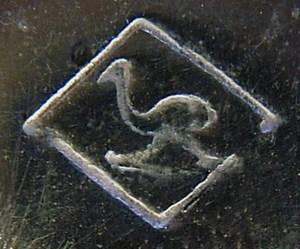 Art Deco WMF Besteckmarke, verwendet in den Jahren 1925-1930