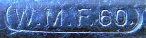 WMF Marke 1880 - ca.1886