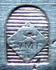 kleine Straussenmarke, 1903-1909 von WMF verwendet