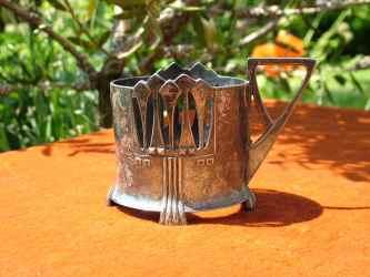 """Einer meiner """"ungarischen"""" Teeglashalter."""