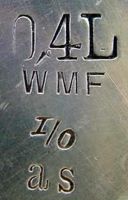 WMF Marke 1880 - ca. 1886