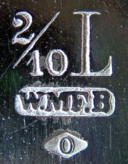 WMF Marke ca.1887 - ca.1903